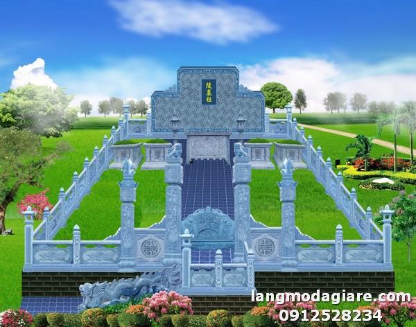 Xây dựng khu nghĩa trang gia đình đẹp và công phu nhất
