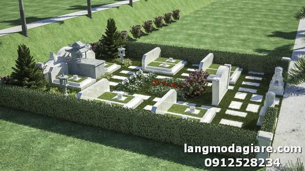 Mẫu nghĩa trang gia đình đẹp và đang được ưa chuộng nhất hiện nay