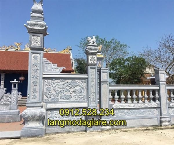Tốp 6 hình ảnh cổng nhà thờ họ bằng đá xanh tự nhiên 06