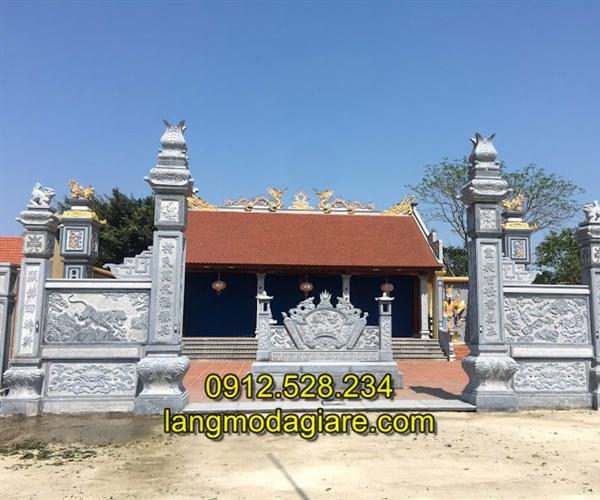 Tốp 6 hình ảnh cổng nhà thờ họ bằng đá xanh tự nhiên 05