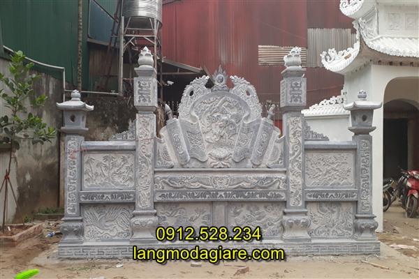 Cuốn thư đá nhà thờ họ, Tắc môn đá nhà thờ họ, Lắp đặt cuốn thư đá nhà thờ họ tại Hà Nội
