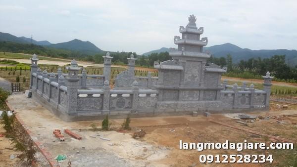 Thiết kế lăng mộ đá chuẩn theo phong thủy