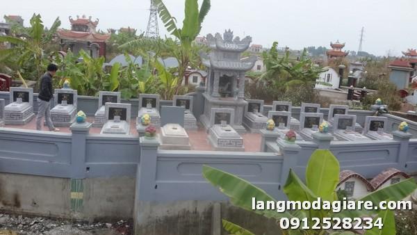 Khu lăng mộ đá đẹp tại Ninh Bình