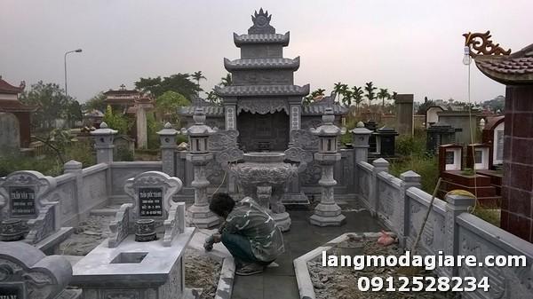 Giá thành mới nhất của khu lăng mộ đá tại Ninh Bình