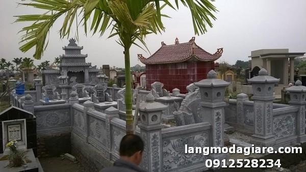 Khu lăng mộ đá đẹp chỉ có tại Ninh Vân Ninh Bình