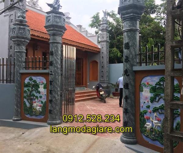 Mẫu cột đồng trụ nhà thờ họ đẹp chất lượng cao giá tốt
