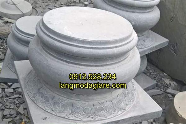 Mẫu đá kê chân cột nhà gỗ đẹp giá rẻ