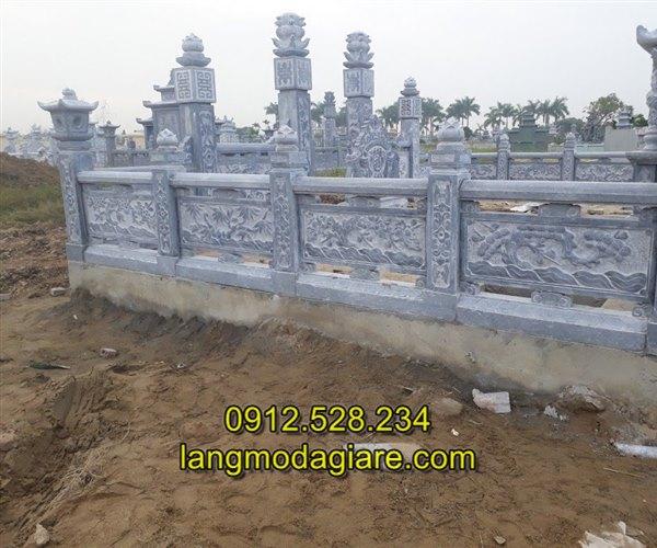 Mẫu hàng rào đá đẹp giá rẻ chất lượng cao