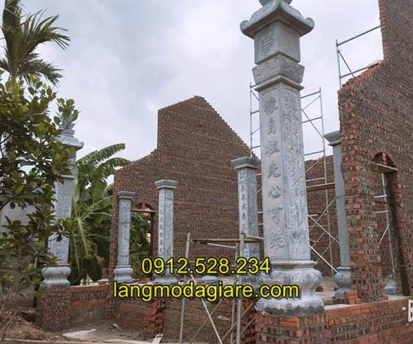 Mẫu trụ đá nhà thờ họ đẹp giá rẻ