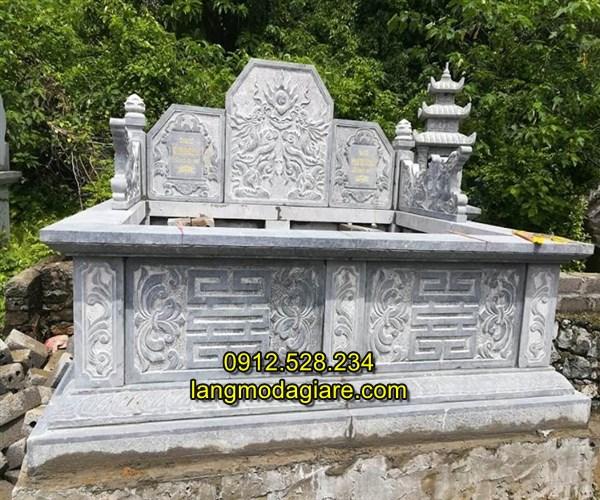 Mẫu mộ đôi bằng đá đẹp bán toàn quốc