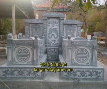 Mẫu mộ đôi đẹp kích thước hợp thước lỗ ban
