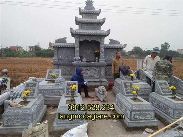 Xây tháp mộ bằng đá đẹp bán toàn quốc