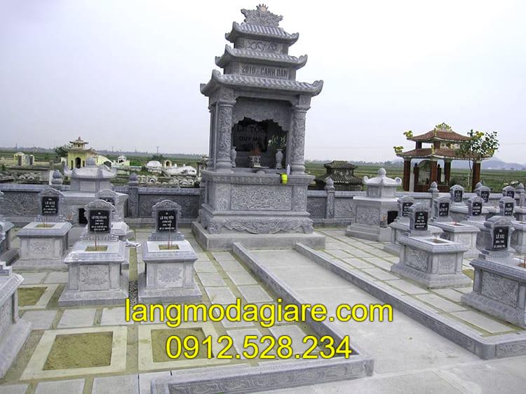 Địa chỉ thiết kế xây dựng lăng mộ đá uy tín