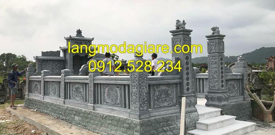 Địa chỉ thi công lăng mộ đá Ninh Vân Ninh Bình
