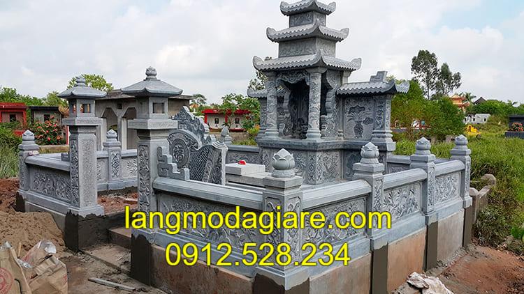 Báo giá lăng mộ đá Ninh Bình