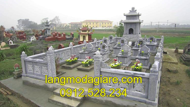Báo giá lăng mộ đá tại Ninh Vân
