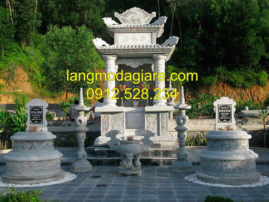 Cơ sở thi công lăng mộ đá Ninh Bình