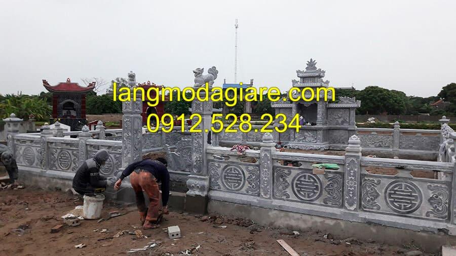 Sản xuất lăng mộ đá