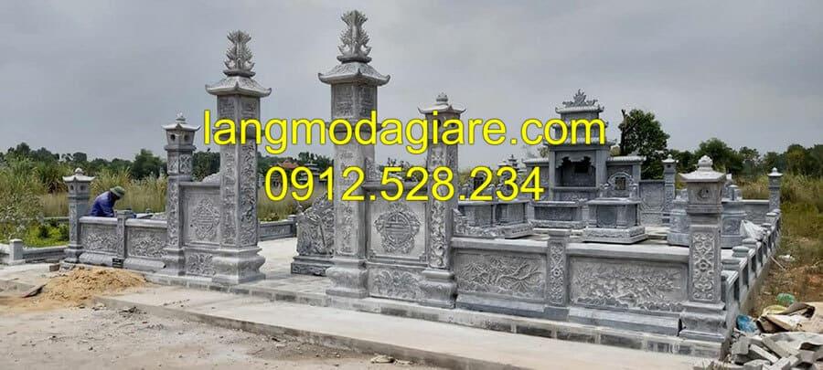 Thi công lăng mộ đá Ninh Bình