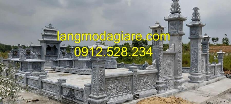 Thi công lăng mộ đá Ninh Vân