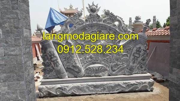 Địa chỉ bán bình phong trước mộ uy tín tại Ninh Vân