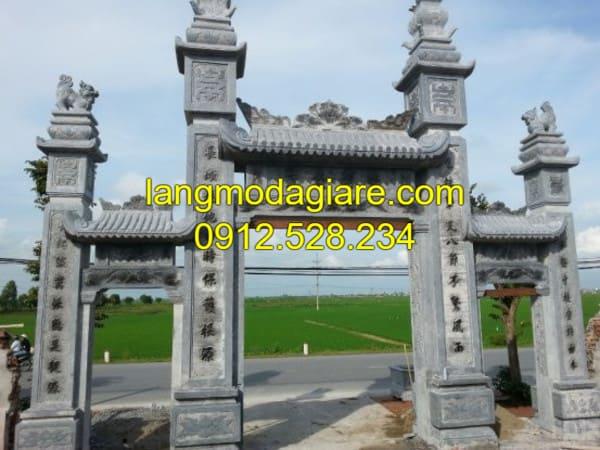 Sơ lược về cổng làng và cổng đình