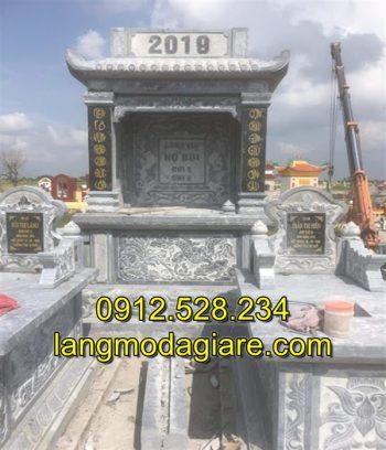 Mẫu lăng thờ đá đẹp tại Ninh Thuận