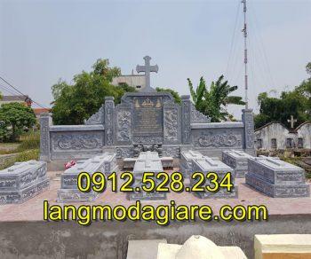 Mẫu mộ công giáo đá điêu khắc đẹp giá rẻ