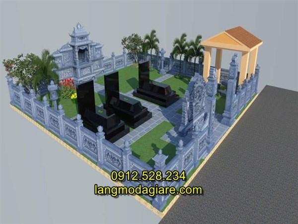 Mẫu thiết kế khu lăng mộ đá cao cấp nhất hiện nay