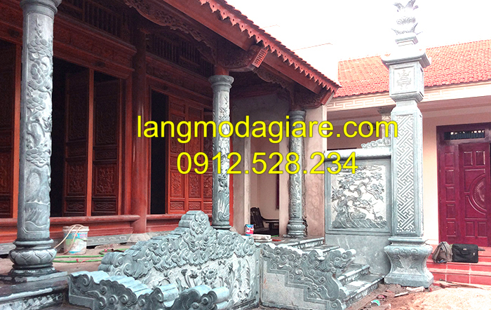 Địa chỉ bán cột đá hiên từ đường uy tín tại Ninh Vân