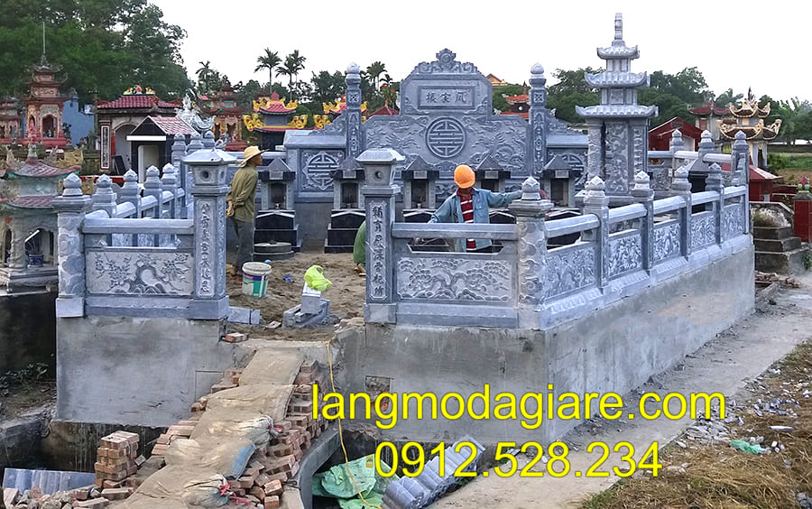 Địa chỉ bán lăng mộ đá khối uy tín tại Ninh Vân - Ninh Bình