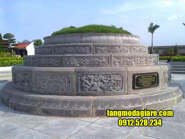 Địa chỉ thiết kế lắp đặt mộ đá tròn uy tín