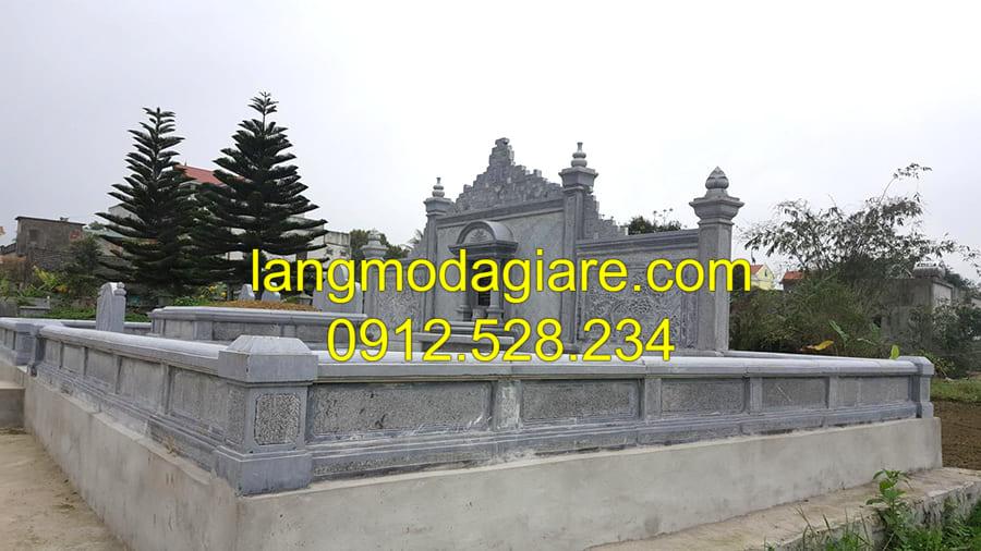 Địa chỉ xây dựng lăng mộ đá cổ Ninh Vân