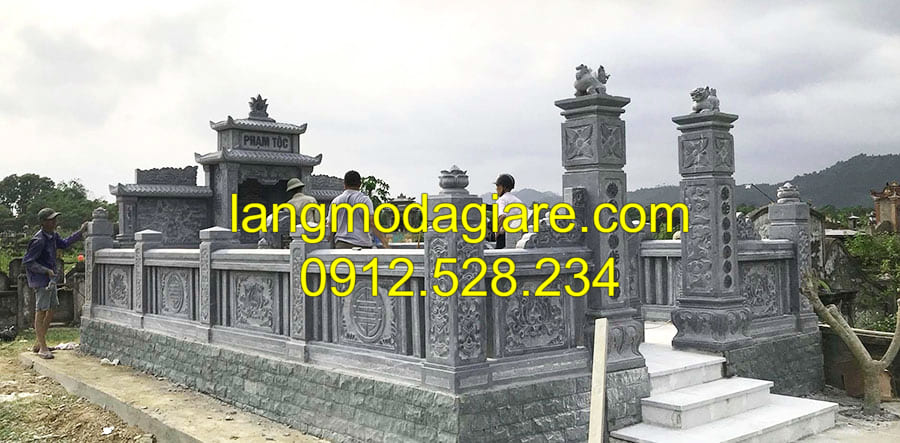Cơ sở chế tác lăng mộ đá cổ Ninh Bình