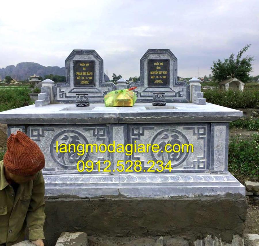 Khu lăng mộ liền kề đẹp chuẩn phong thủy
