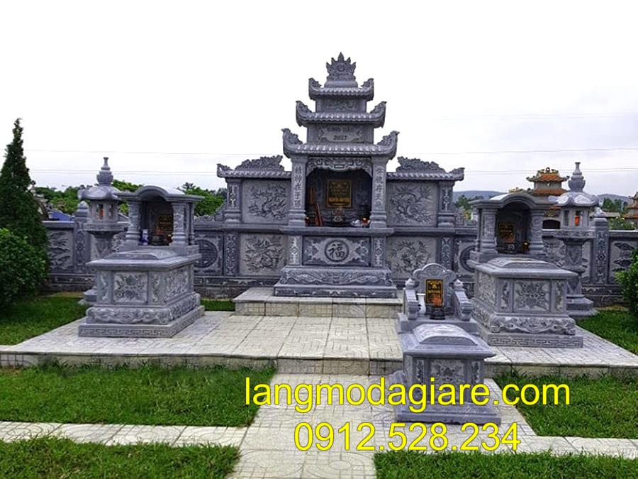 Lăng mộ đá khối đang được thịnh hành tại Ninh Bình