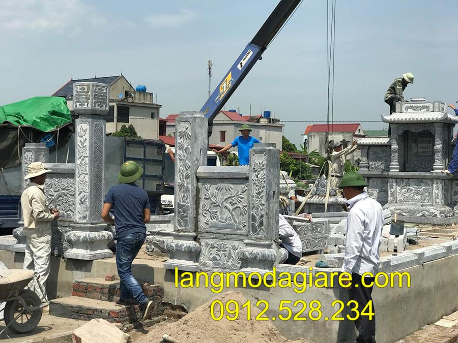 Lăng mộ đá khối Ninh Bình