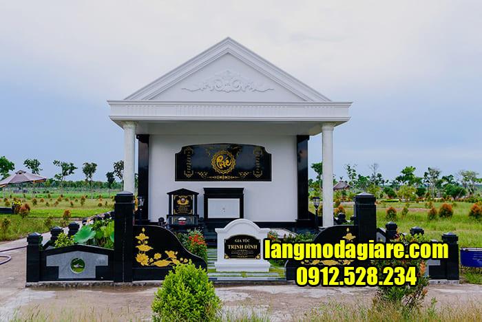 Mẫu khu nhà mồ đẹp ở Bình Phước