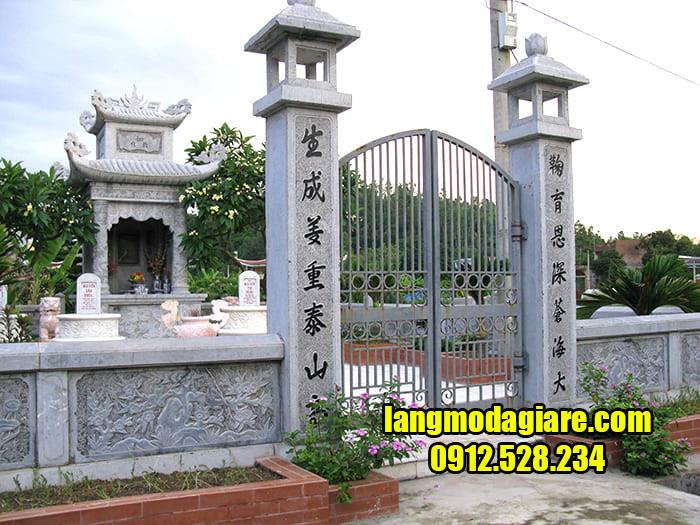 Mẫu khu nhà mồ đẹp ở Tiền Giang