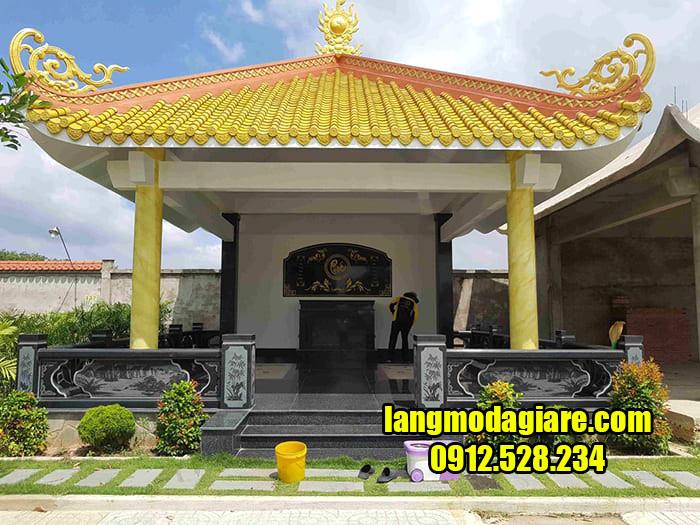 Mẫu khu nhà mồ đẹp ở Vĩnh Long