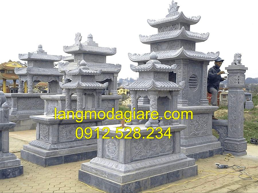 Mẫu mộ liền kề với kích thước chuẩn lỗ ban