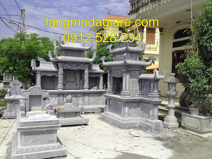Mẫu mộ xây có sẵn đang được ưa chuộng