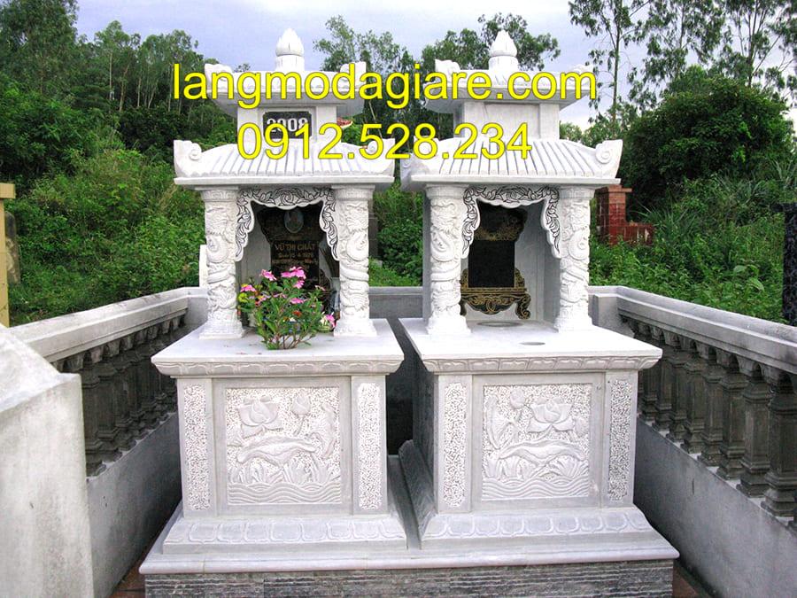 Mẫu mộ xây sẵn