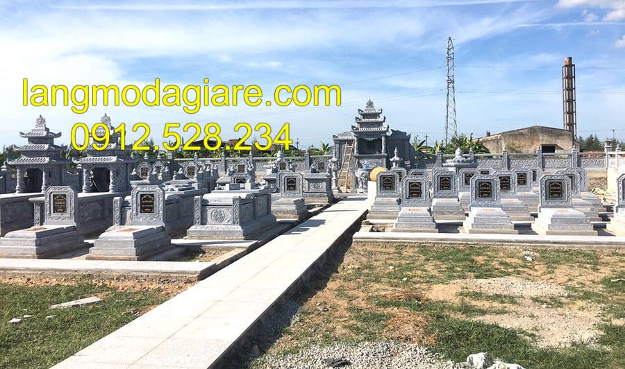 Mua lăng mộ đá gia tộc tại Ninh Bình