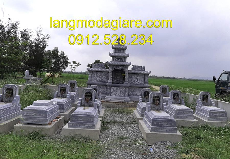Mua mộ xây lắp đặt sẵn tại Ninh Vân