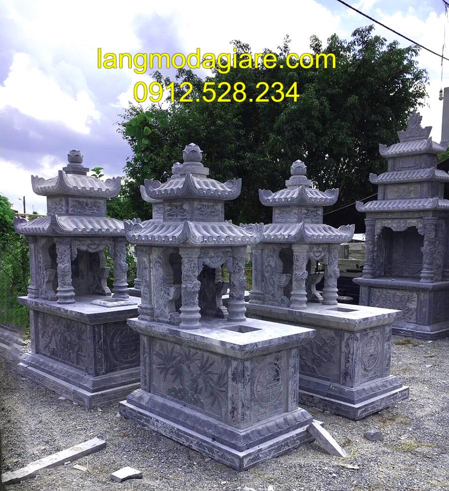 Những mẫu mộ đá có sẵn đang được thịnh hành