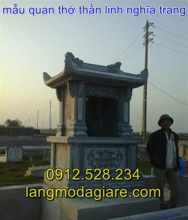 Mẫu miếu thờ quan thần linh khu nghĩa trang