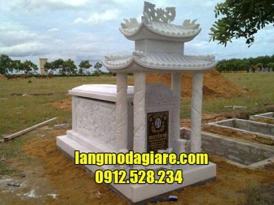 Địa chỉ xây dựng mộ tổ bằng đá trắng đẹp uy tín