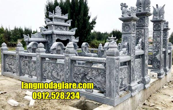 Địa chỉ xây dựng lăng mộ đá