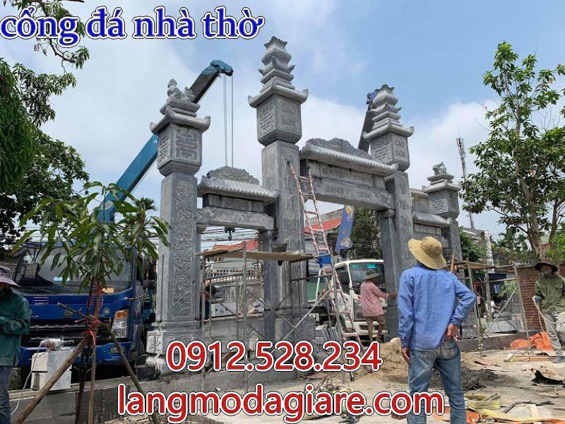 mẫu cổng nhà từ đường